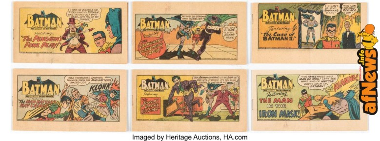 Batman Giveaways Kellogg's Poptarts Comics Complete Group of 6 (DC, 1966)-afnews
