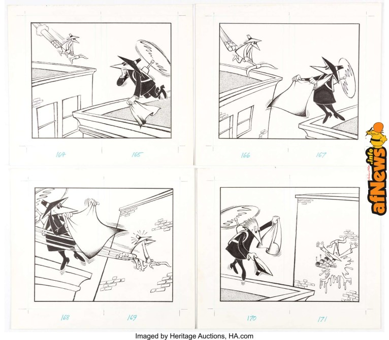 Bob Clarke MAD Spy vs. Spy The Updated Files 48 Complete 10-Page Story File XX 2-afnews