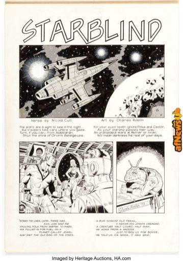 Charlie Roblin Hot Stuf' 108 Story Page 1 Original Art (Sal Quartuccio, 1978)-afnews