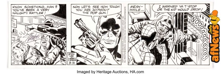 Larry Lieber and Stan Lee The Amazing Spider-Man-afnews