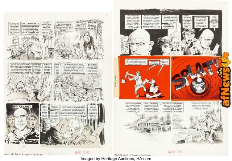 Mort Drucker MAD 3215 Near-Complete Story A Crock o' Blip Now 2-afnews