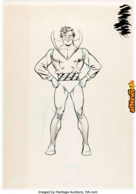 Murphy Anderson Who's Who The Definitive Directory of the DC Universe 3225 Weather Wizard-afnews