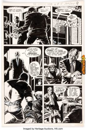 Wally Wood The Witching Hour 2115 Story Page 7 Original Art (DC, 1971)-afnews