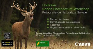 I Edición Canon Photonature Workshop