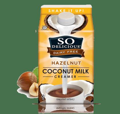 Coco milk creamer hazelnut