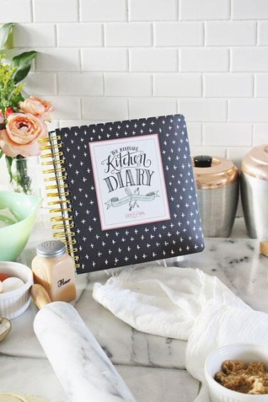 Lily and Val Keepsake Kitchen Diary