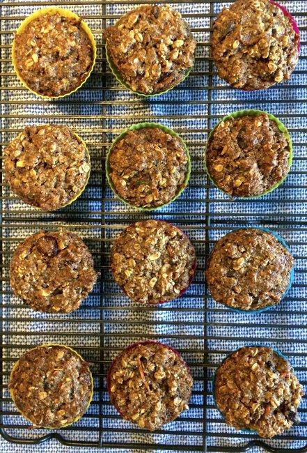 Shalane Flanagan Superhero Muffins