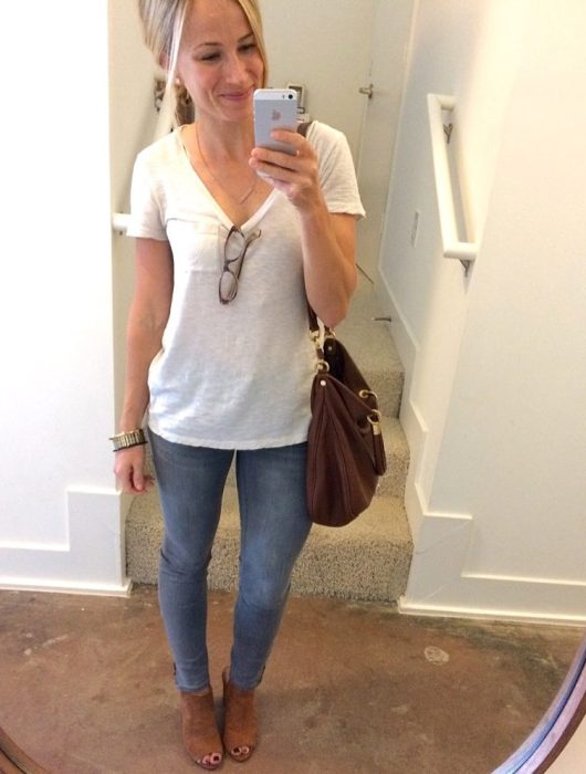 madewell gray jeans