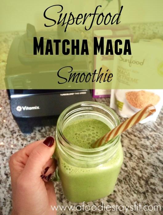 maca smoothie recipe