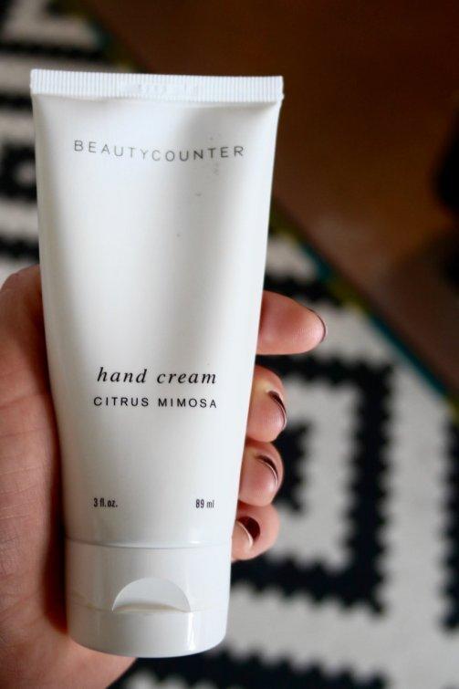 beautycounter hand cream
