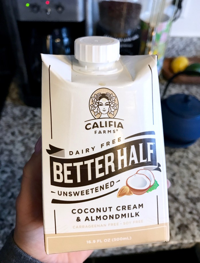 califia farms better half creamer