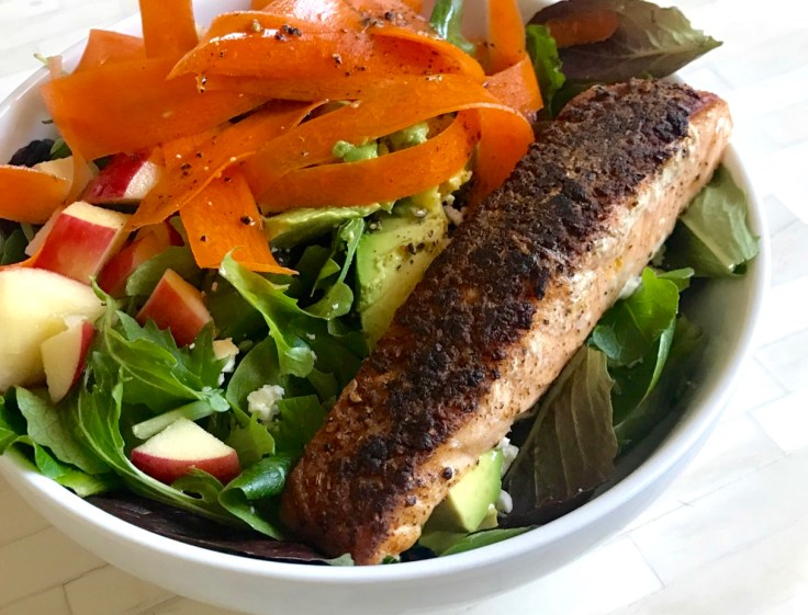 how to pan sear salmon