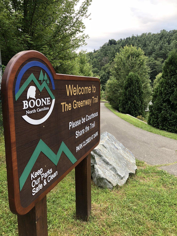 Boone North Carolina Greenway Trail