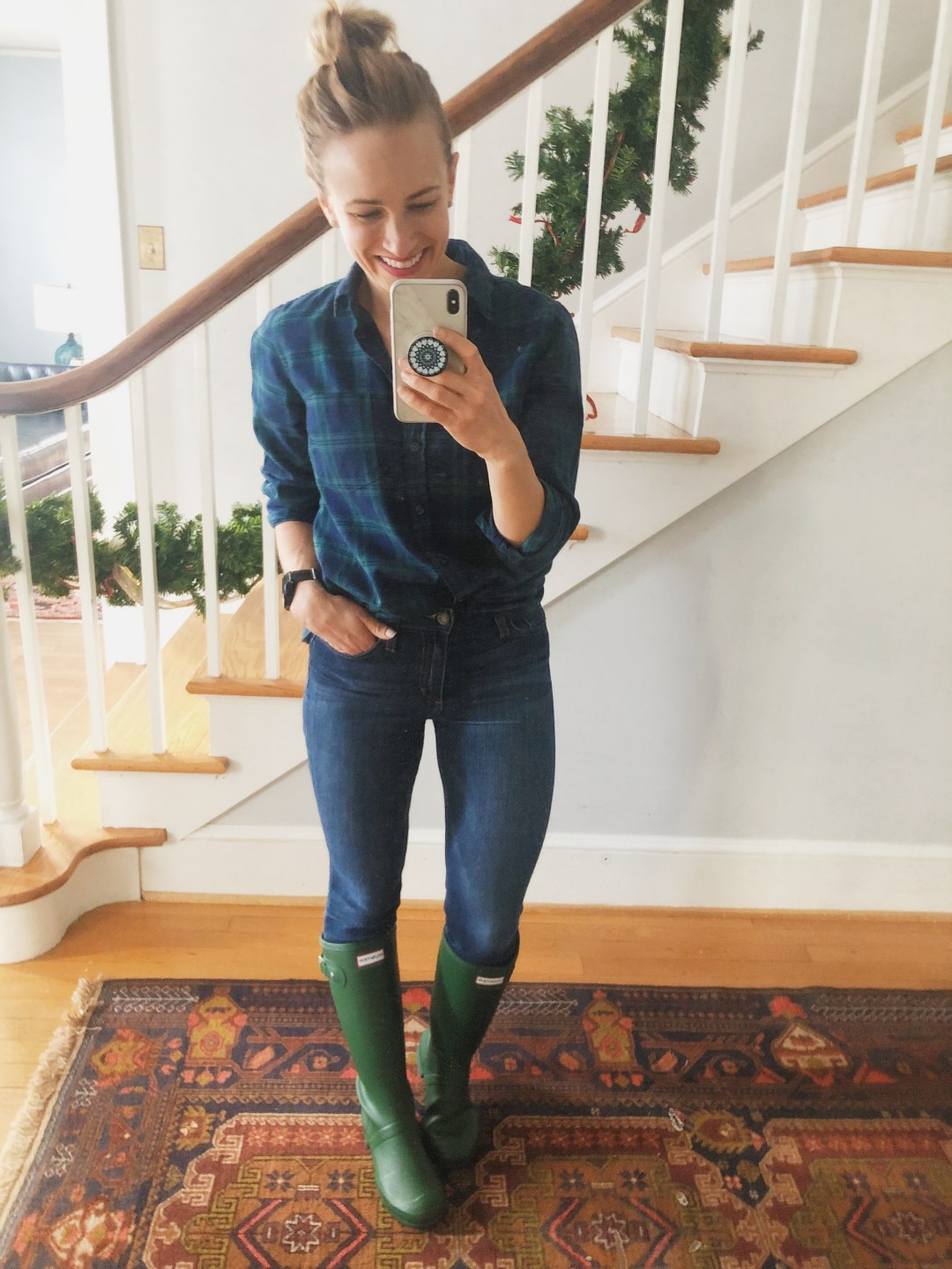 hunter boots outfits