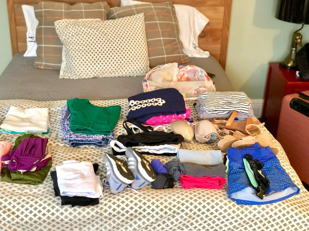 how to pack light