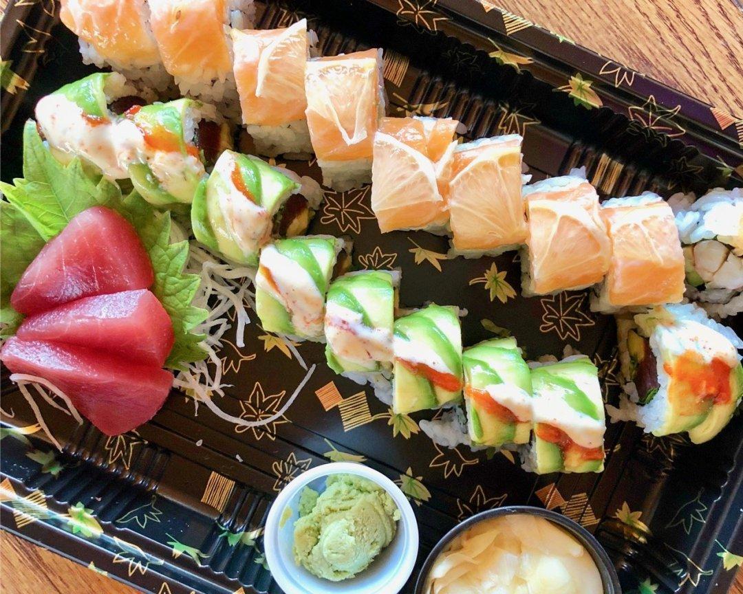 tsunami takeout sushi in lehi utah
