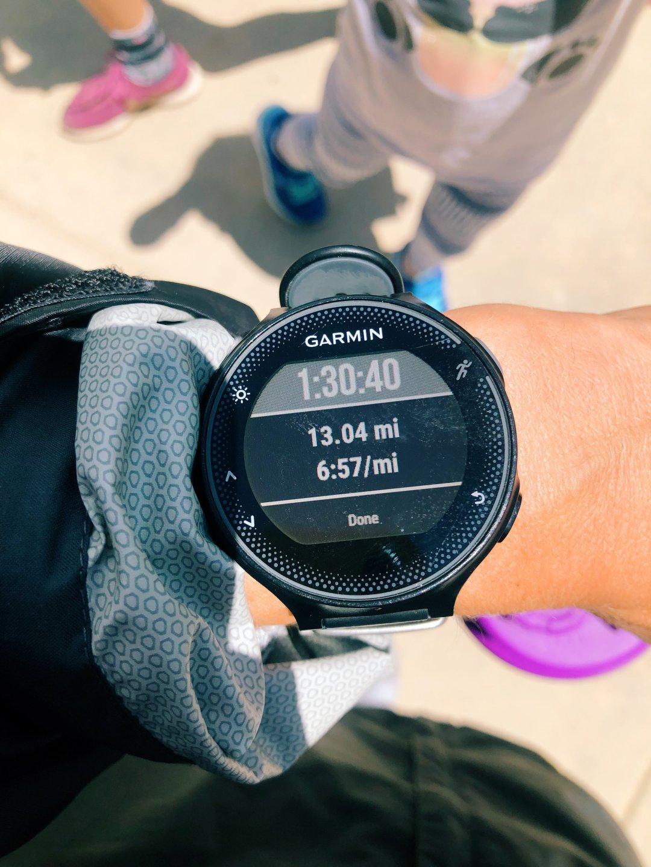 Garmin watch | How To Train For A Half Marathon