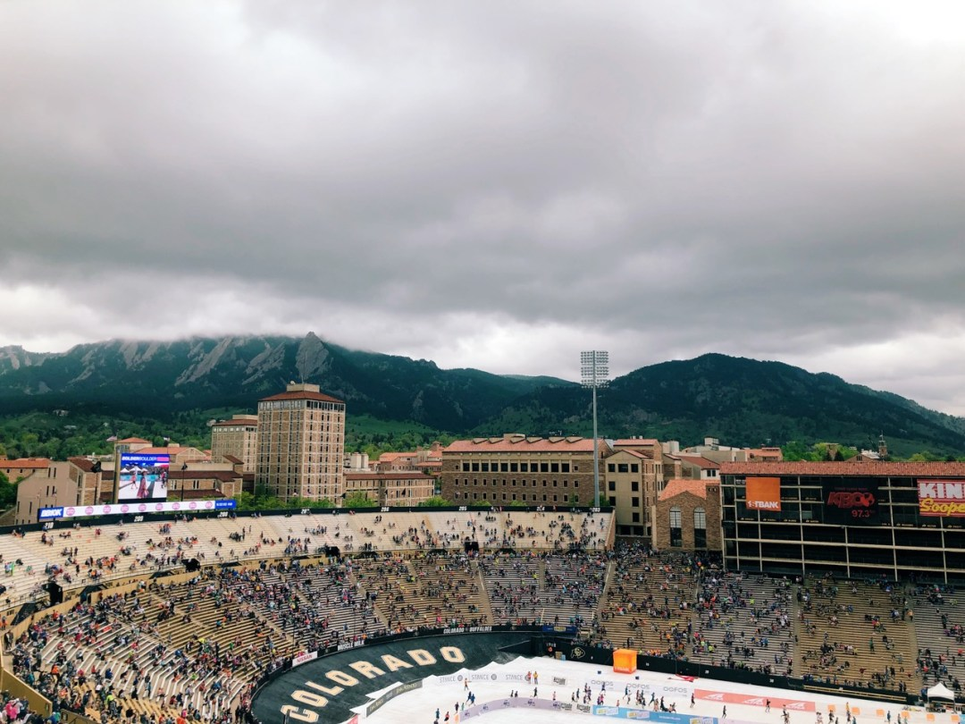 folsom field in boulder colorado