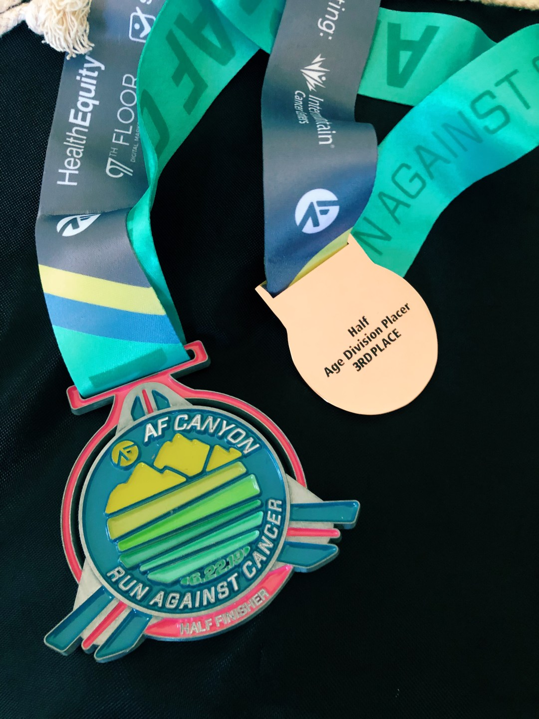 af canyon run medals