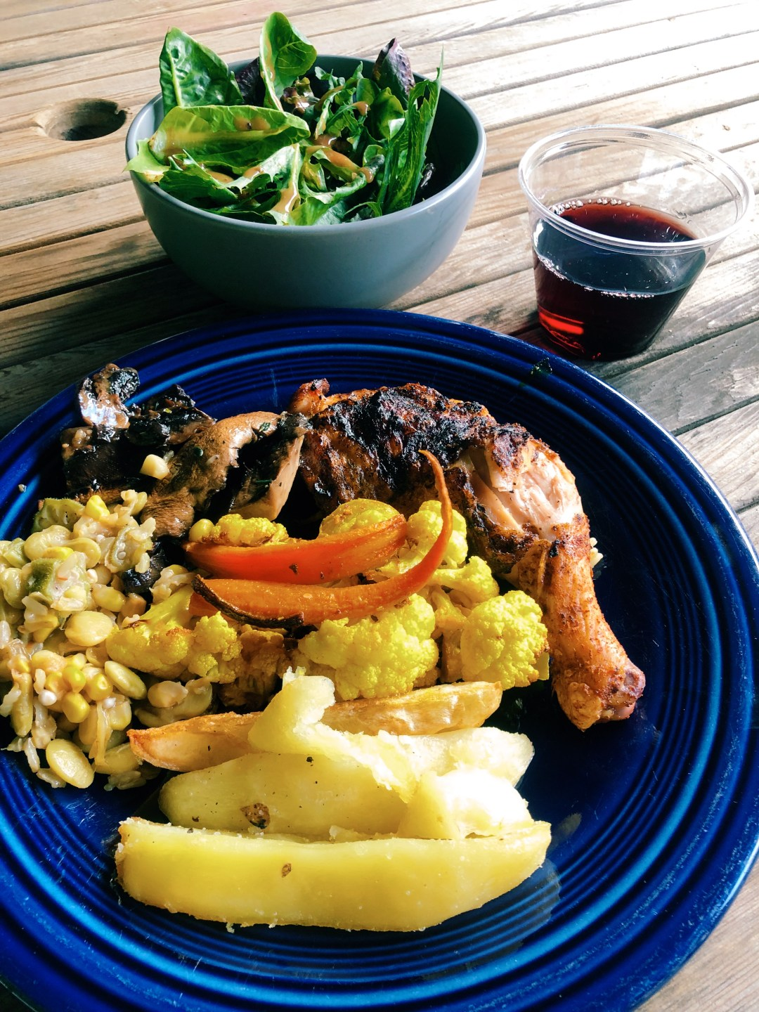 zap fitness adult summer camp meals