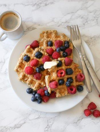 Whole Grain Waffles | The BEST healthy waffle recipe