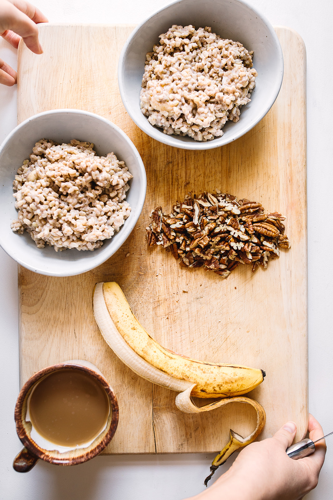Coconut Brown Rice Breakfast Bowl