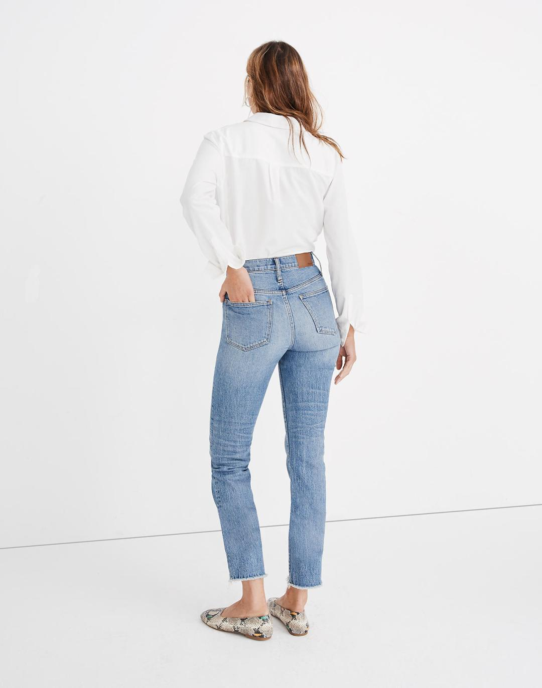 Madwell The Petite Perfect Vintage Jean in Ainsworth Wash