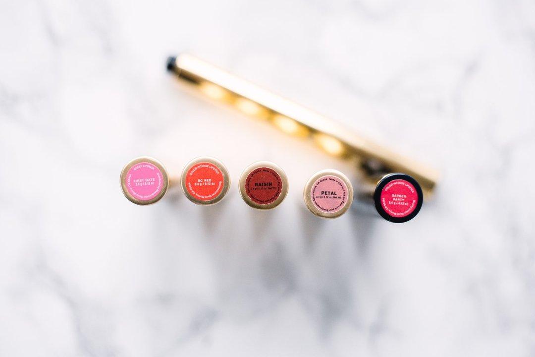 Color Intense Lipstick Colors