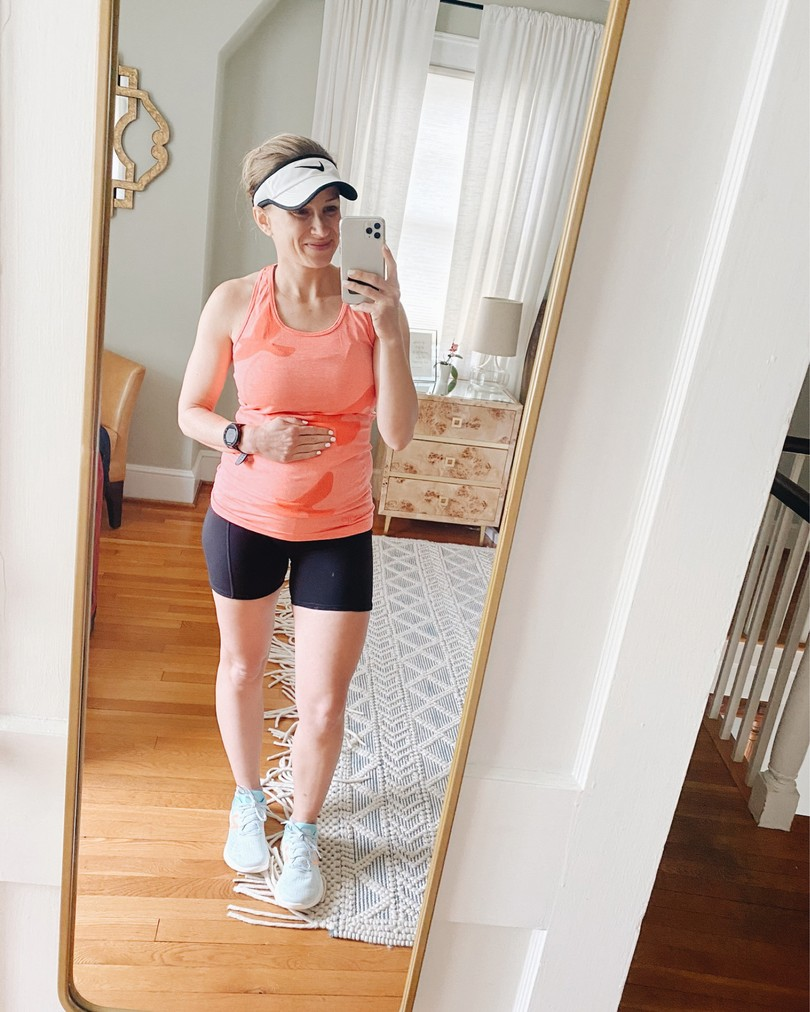 Pregnancy Workout Outfits