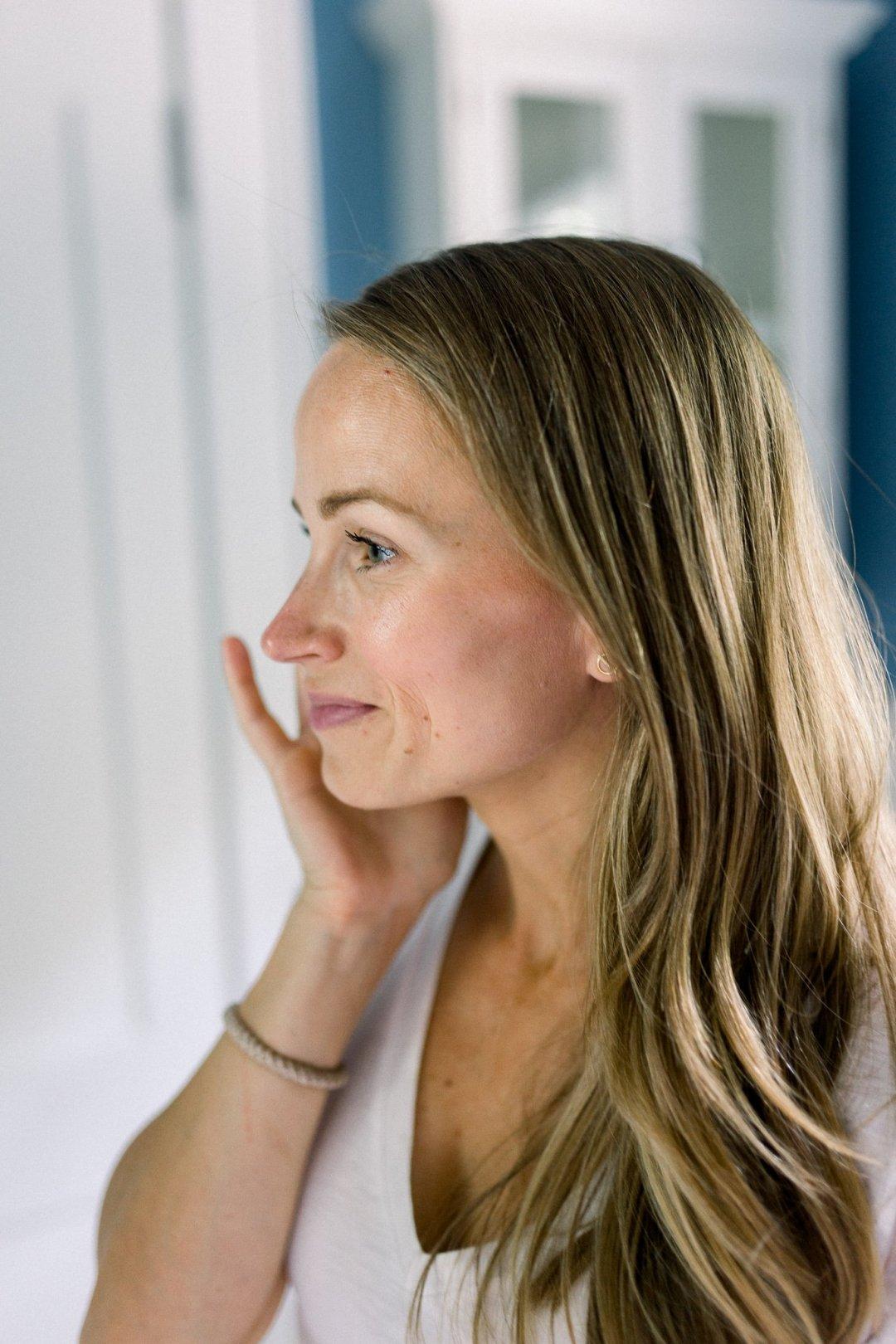 how to apply Beautycounter face sunscreen
