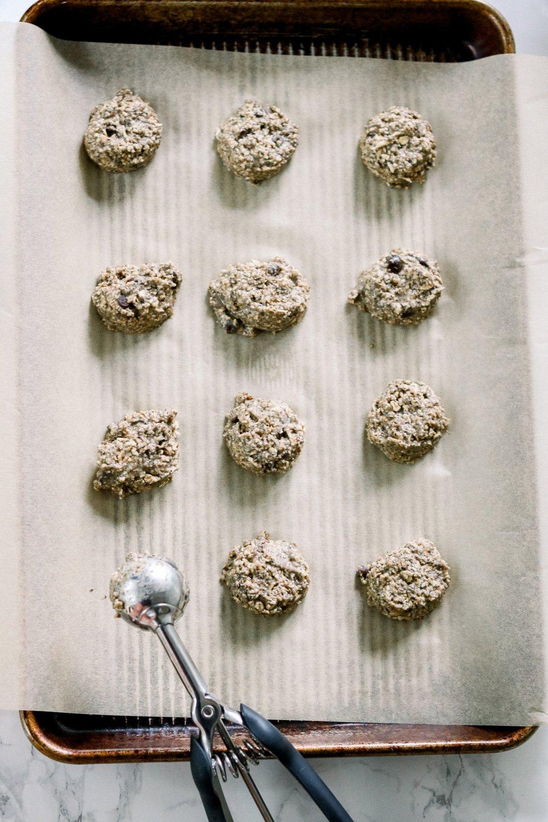 Homemade healthy cookies
