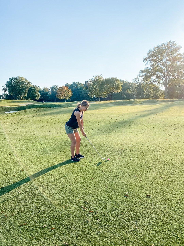 Golfing during pregnancy