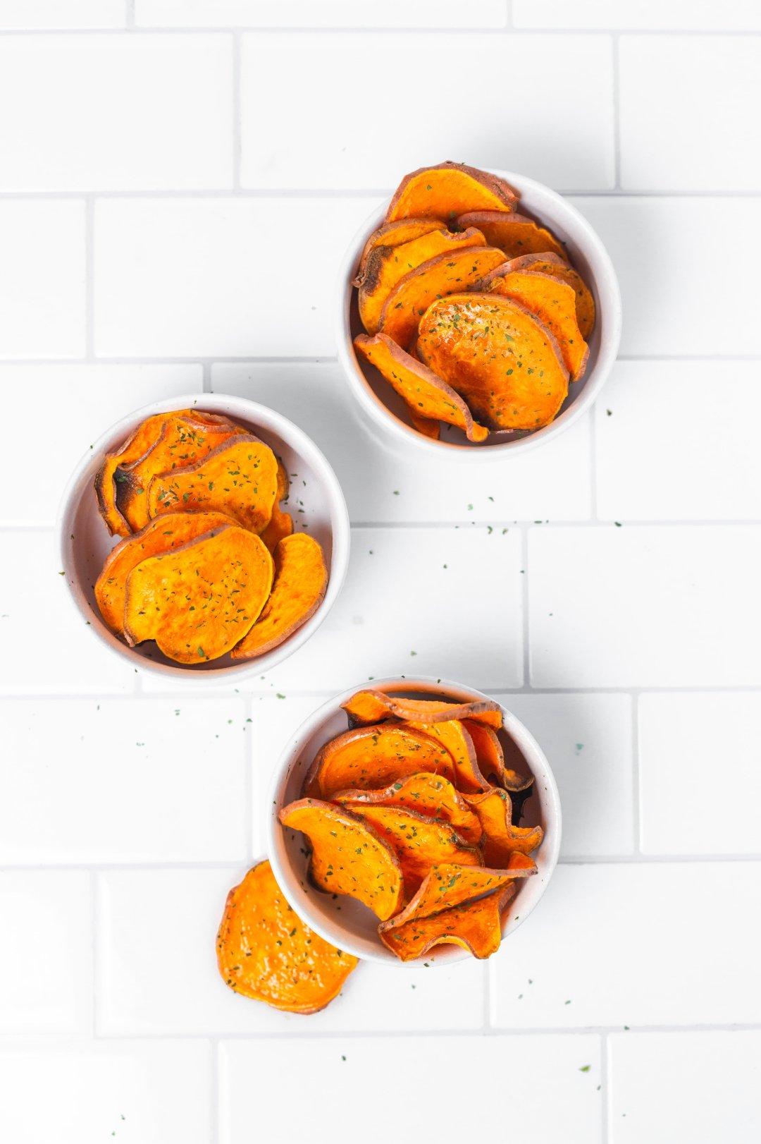Best Baked Sweet Potato Chips Recipe