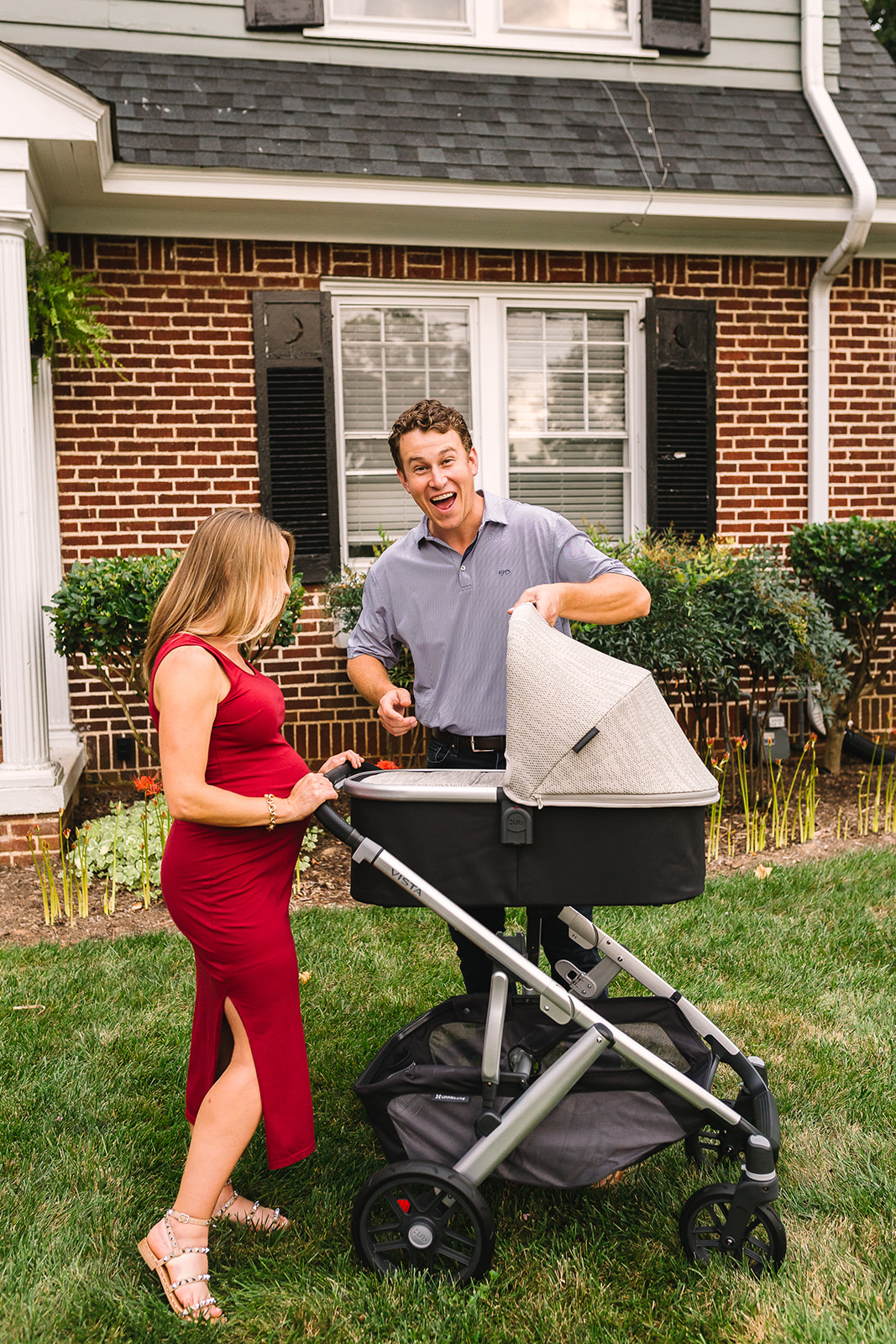Our Baby Registry Must Haves | UppaBaby Vista V2 Stroller with Bassinet + Jogging Stroller