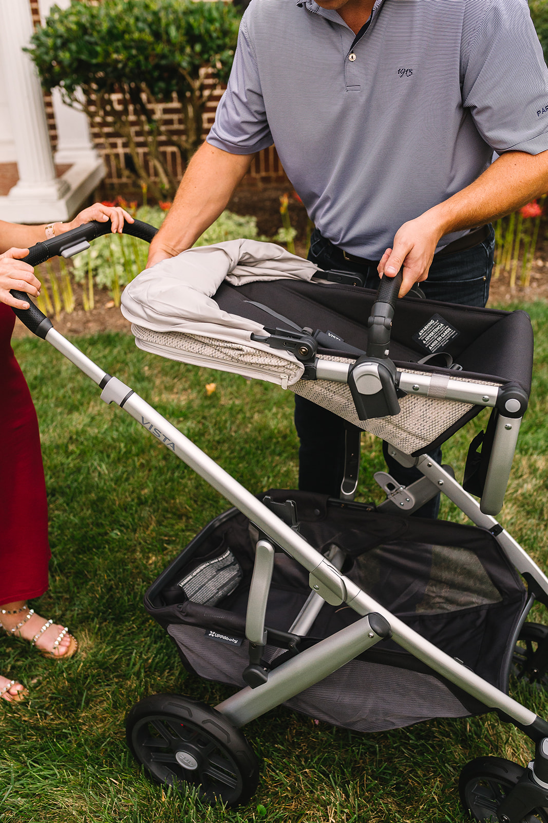 baby stroller with bassinet