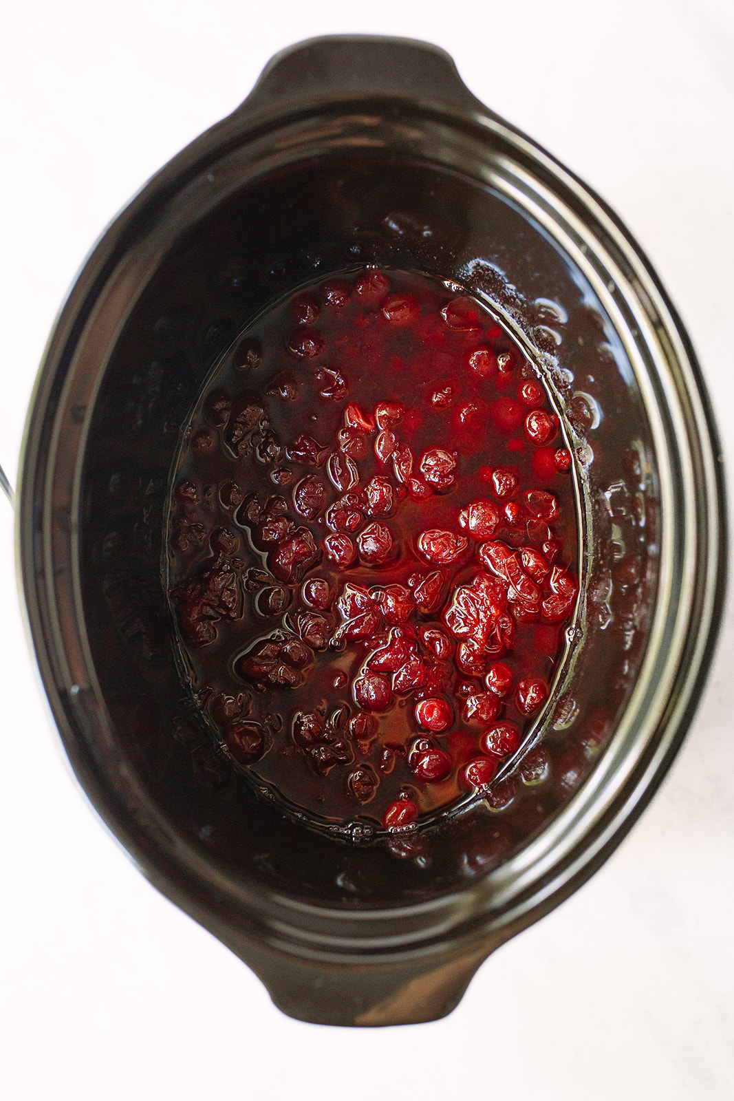 Crockpot Cranberry Sauce with Bourbon