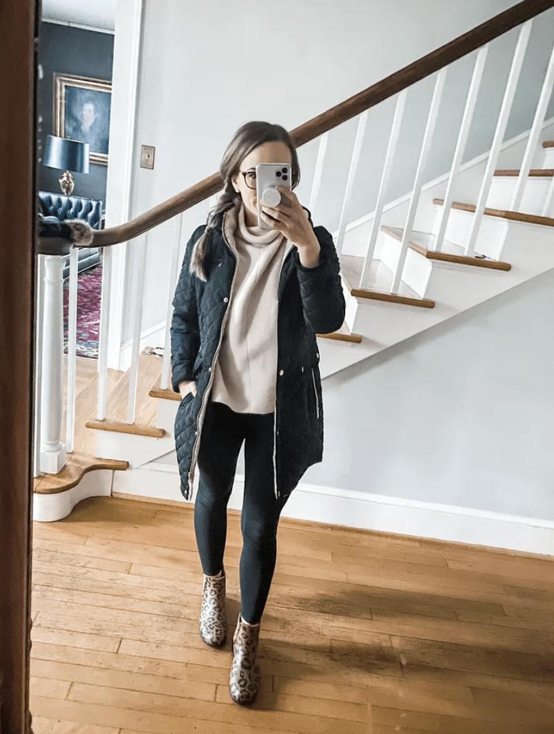 Ralph Lauren coat | February Outfit Roundup