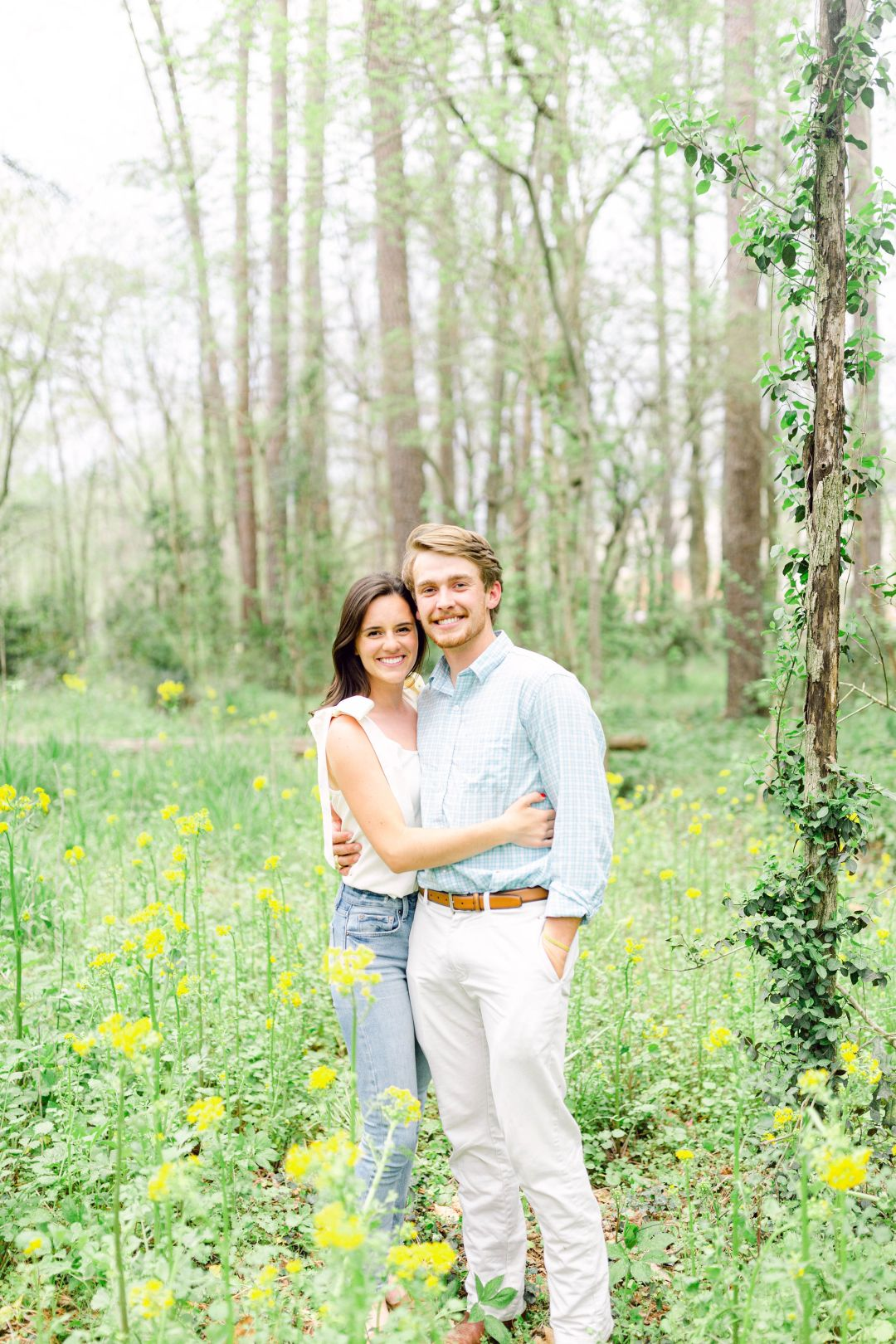 spring engagement photoshoot ideas