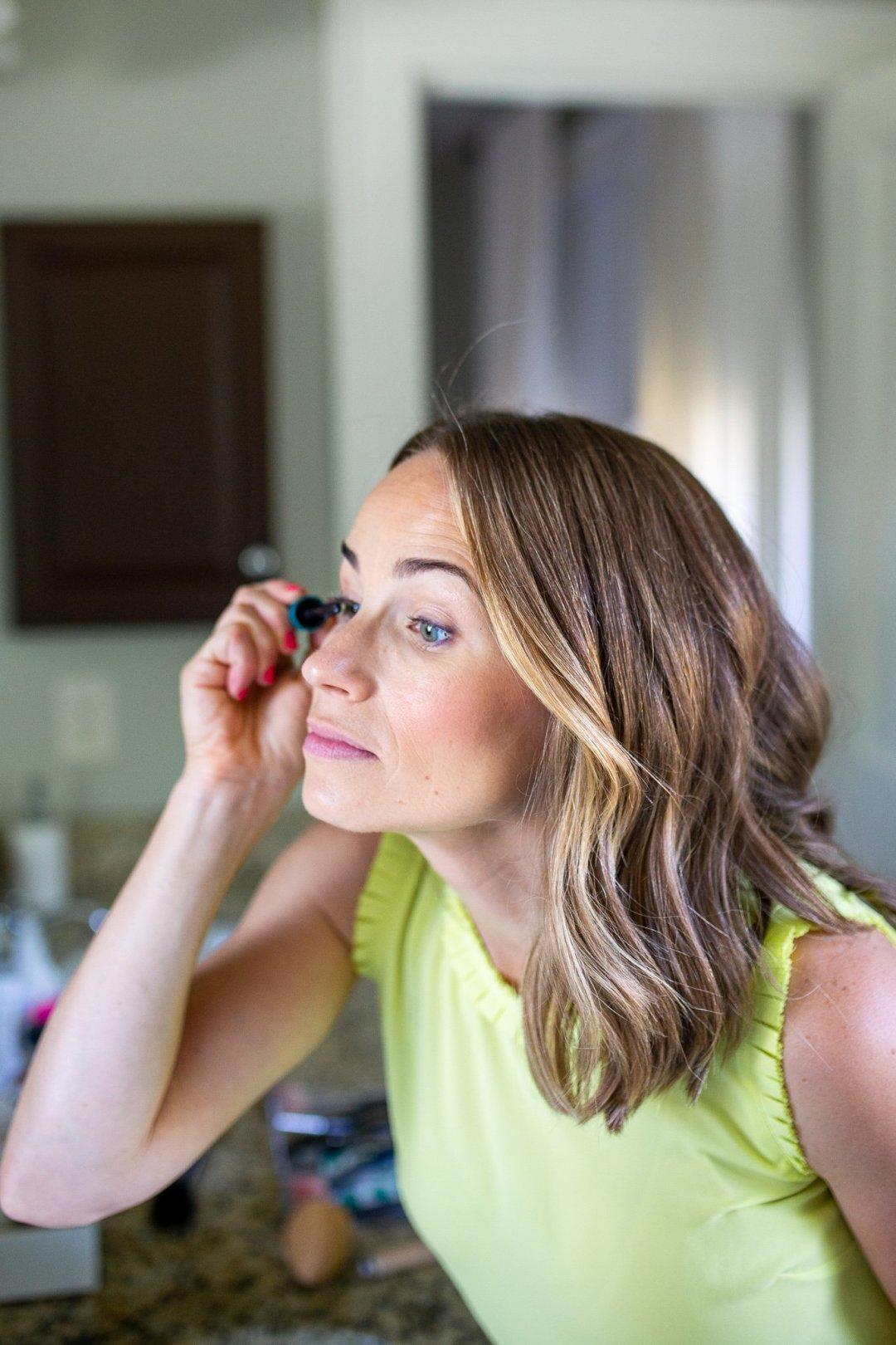 using Thrive Mascara review