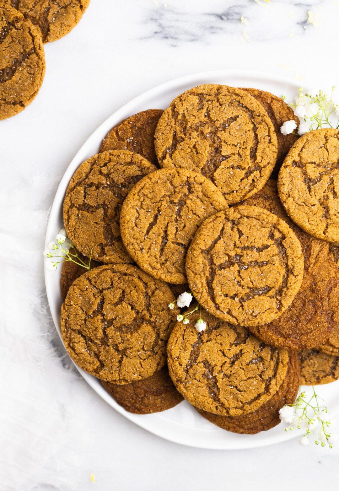 The Best Ginger Lemon Cookies Recipe