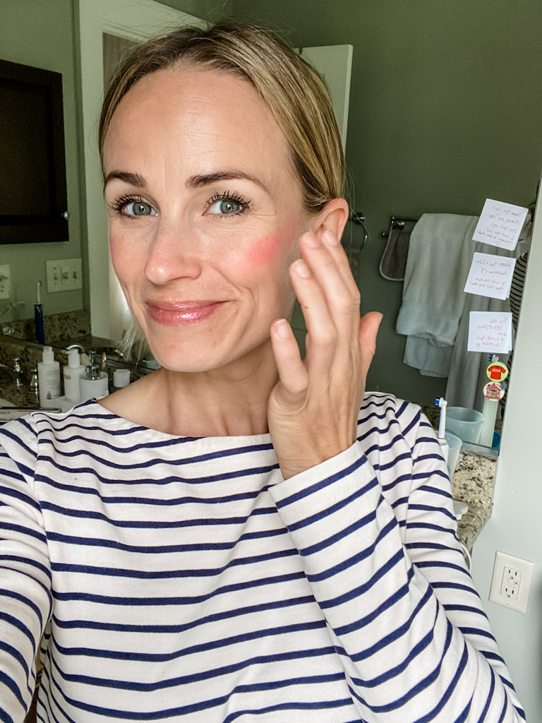 How To Apply The Cream Blush