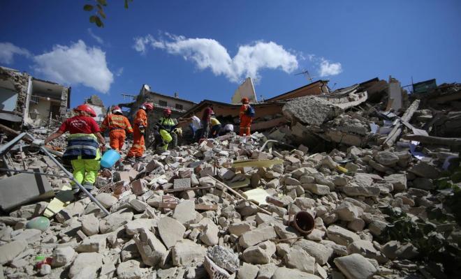 Terremoto e migranti