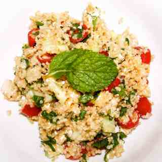 Healthy Feta Quinoa Salad Recipe