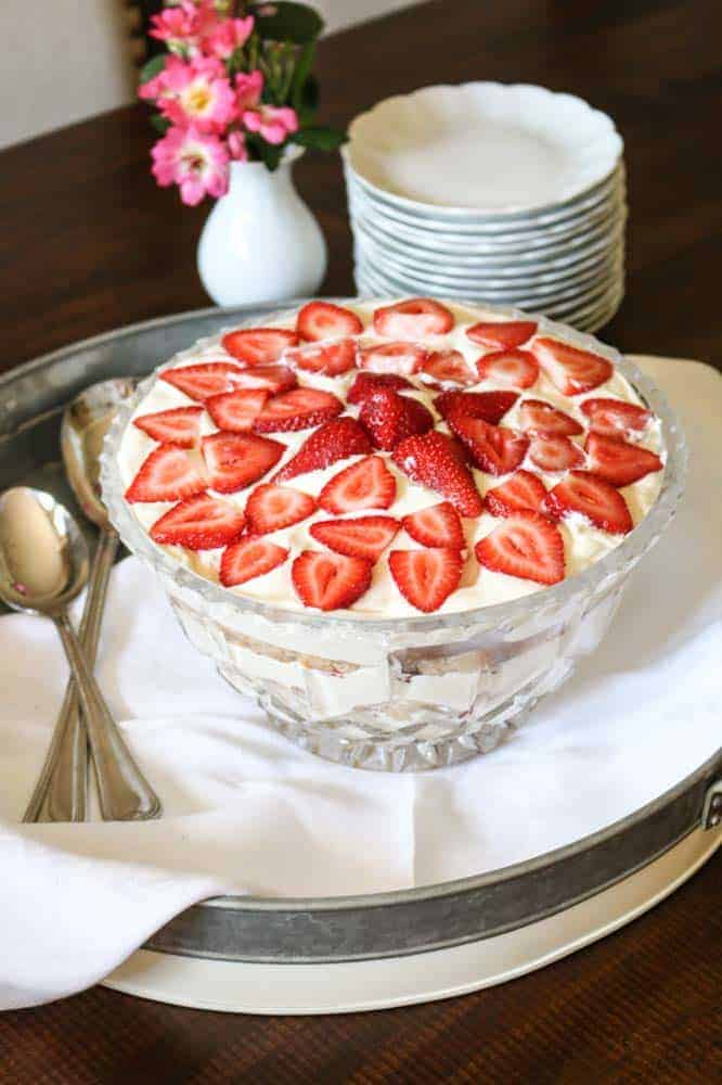Strawberry Cream Shortcake Recipe for a holiday treat