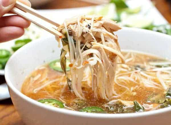 Chicken Pho made easily at home in your Crock Pot!