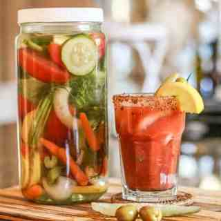 The Best Bloody Mary Vodka Infusion