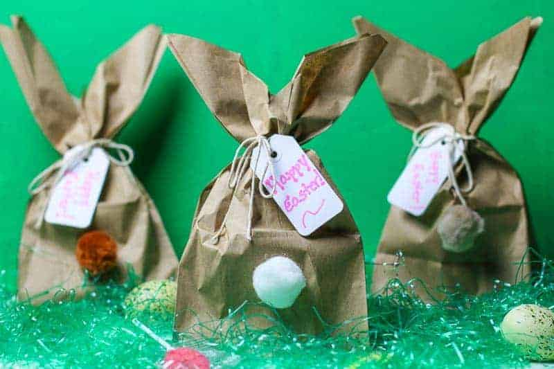 Easy diy easter bunny gift bags need a clever easy easter bunny craft idea how about making these fun easy negle Images