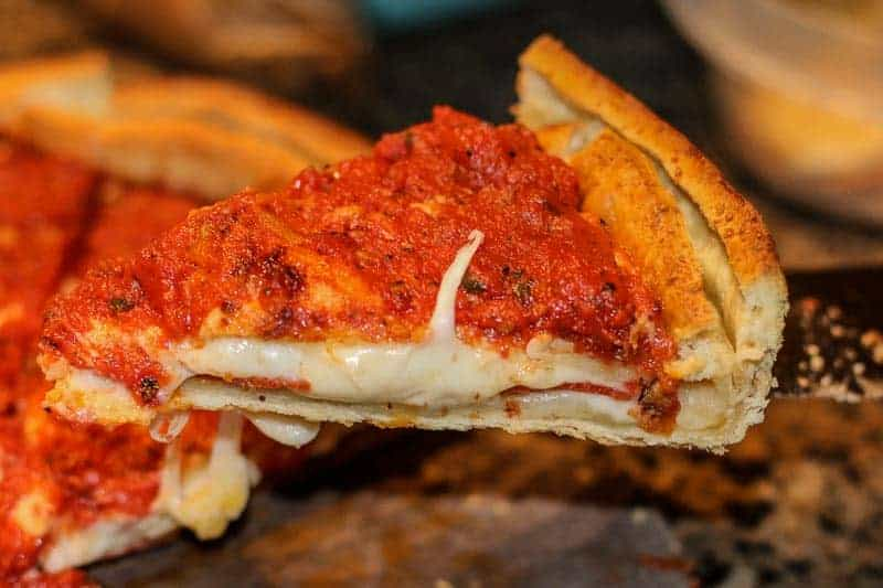 Have you ever had a stuffed deep dish pizza from Chicago? If you haven't, you need to try Giordano's Famous Stuffed Pizza! And guess what? It can be delivered straight to your door!