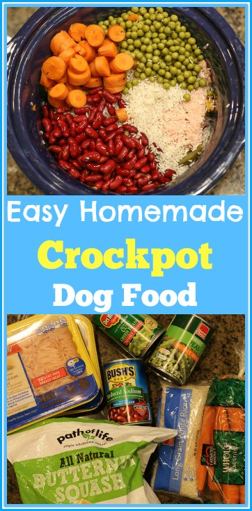 Easy homemade dog food crockpot recipe with ground chicken are you wanting to make your own dog food this is an easy homemade crockpot forumfinder Choice Image