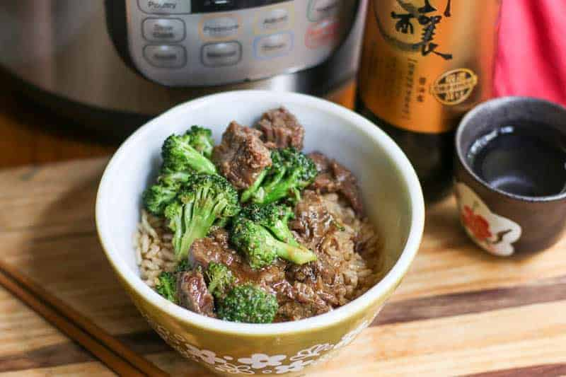 how to make Instant Pot Broccoli and Beef